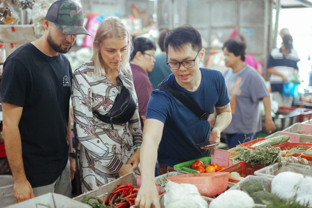 Chef Samuel Private Cooking Class | Wet Market Tour at Ayer Itam Market