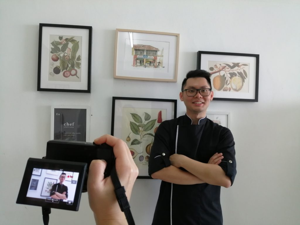Chef Samuel featured on Oriental Daily 东方日报 in Malaysia