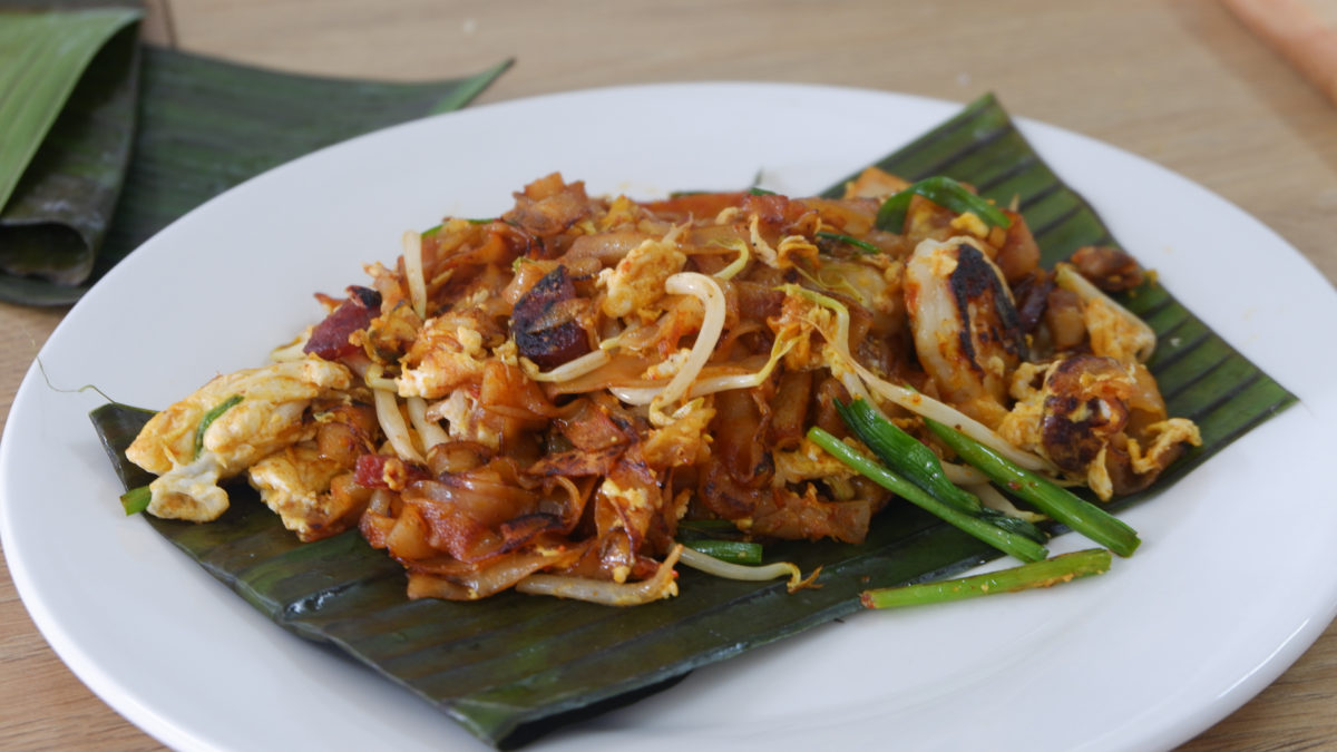 Char Koay Teow Malaysia Penang Street Food Cooking Class Penang with Chef Samuel