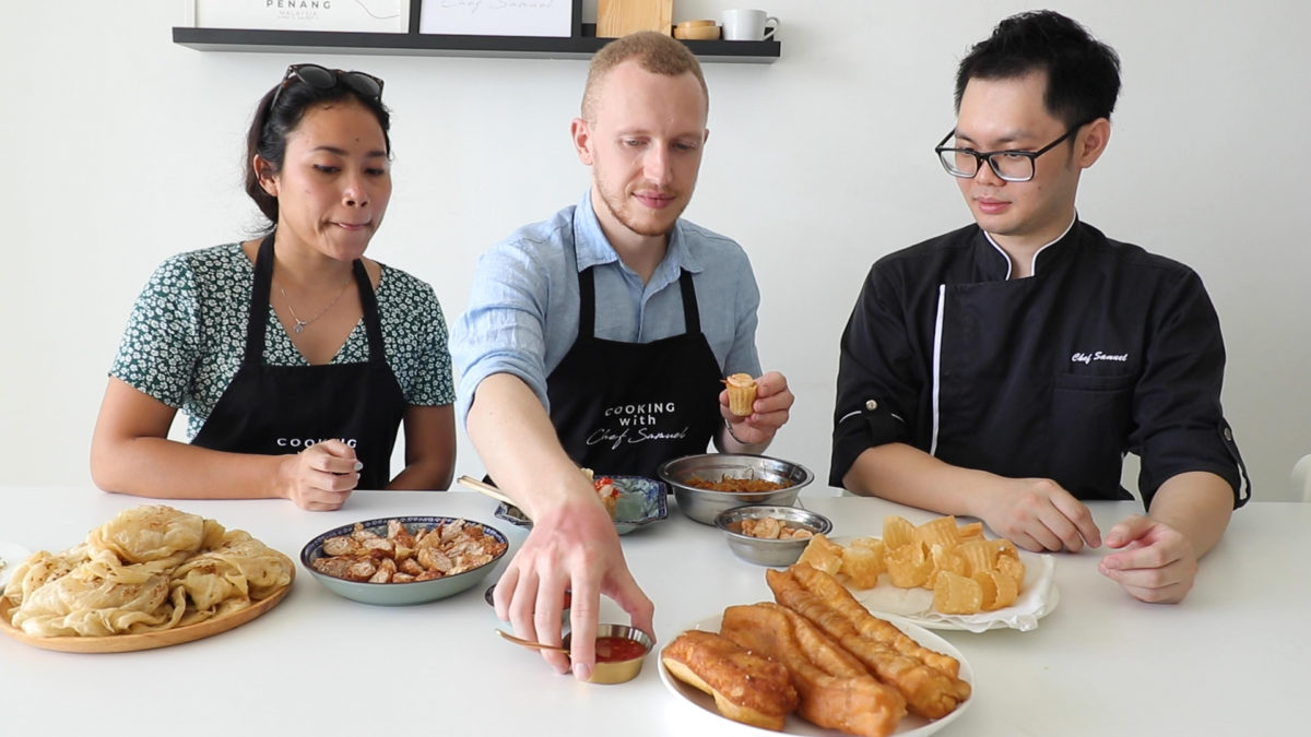 Couple Cooking Class in Penang | Chef Samuel